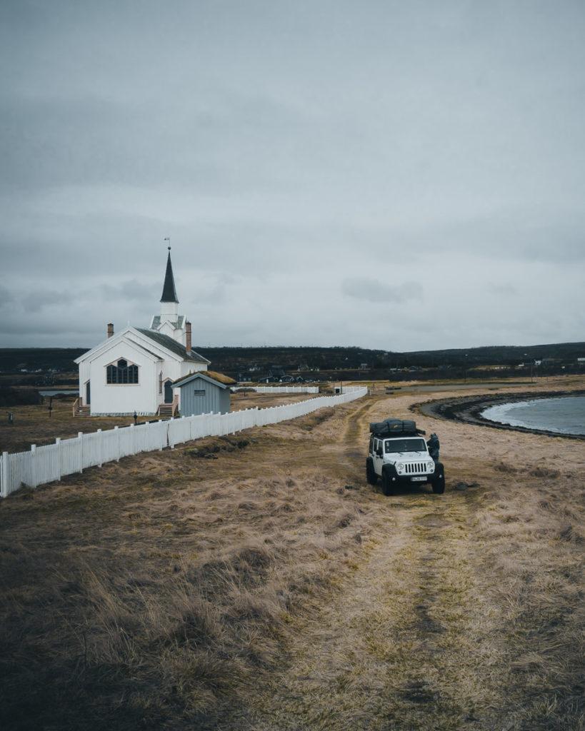Skandinavien Rundreise Nesseby Kirke