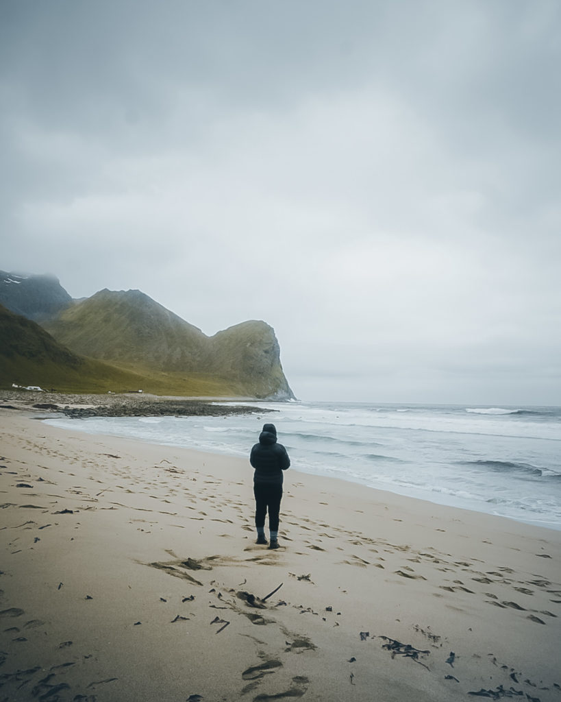 Strand von Unstad